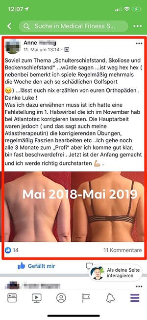 Erfahrungen Medical Fitness System